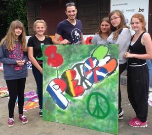 Graffiti Peace at Flanders_w500_h445