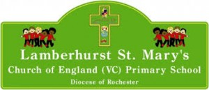 Lamberhurst St Mary's School badge