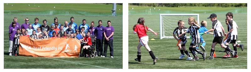 National Deaf Children's Society - Deaf Friendly Football Festival event photo.