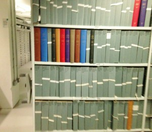 Eight miles of archives at the Maidstone Library and History Centre