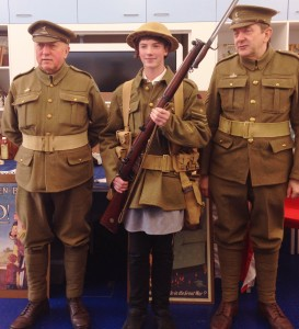 Charlie Gibson: The WW1 soldier!
