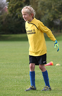 Goalkeeping for peace