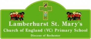 Lamberhurst St Mary's School badge
