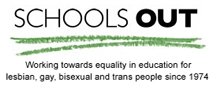 SCHOOLS OUT logo and link.