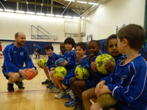 Ministry of Football coaching session.
